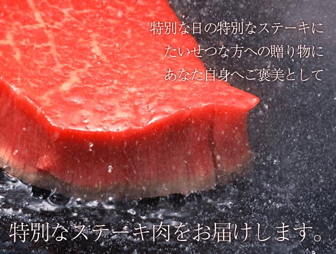 宮崎牛 ヒレステーキ200g