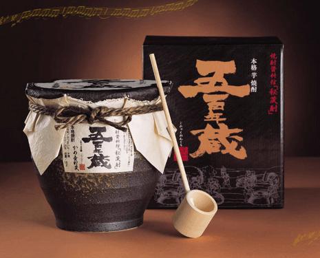 薩摩秘伝の長期貯蔵「芋焼酎」