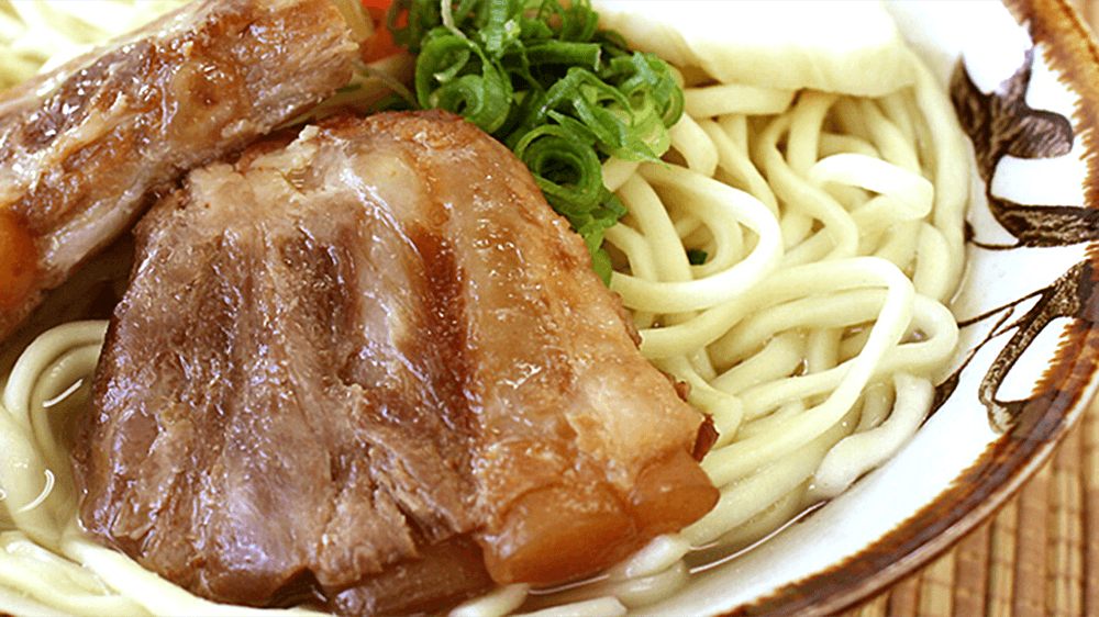 沖縄そば「ソーキそば」