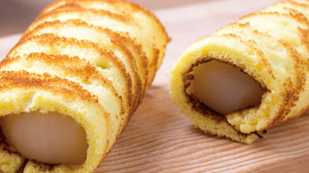 徳島郷土菓子「とら巻き」